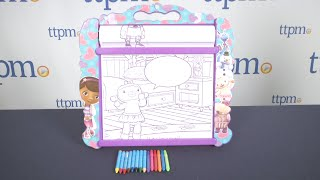 Doc Mcstuffins Rolling Art Desk From Tara Toy
