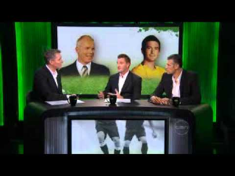 Lucas Neill gives us his thoughts on Harry Kewell's burst up with Robbie Slater - part 2