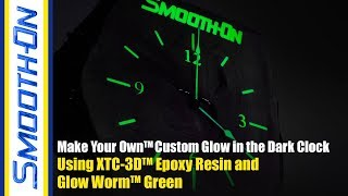 Glow Worm™ high performance glow-in-the-dark powder is used to make...