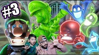 Luigi y Gomiluigi contra Fantasmas | Luigi's Mansion 3 Capitulo 3 | Juegos Karim Juega