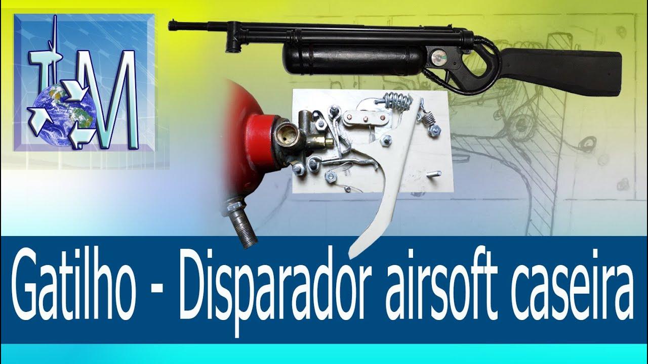 Download Gatilho - Disparador airsoft caseira