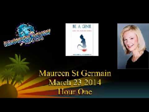 Maureen St Germain on THMR March 23 2014 Hour One