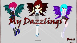 speedpaint my dazzlings 7 oc mlp eqg wel e to the show