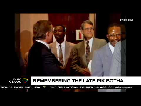 Pik Botha's obit