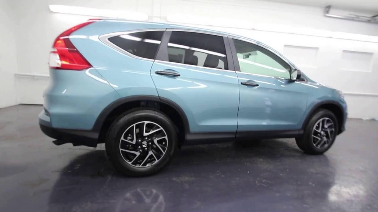 Honda Of Seattle >> 2016 Honda CR-V SE | Mountain Air Metallic | GH656453 | Seattle | Renton - YouTube