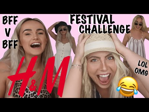 H&M OUTFIT CHALLENGE - FESTIVAL EDITION | SYD AND ELL