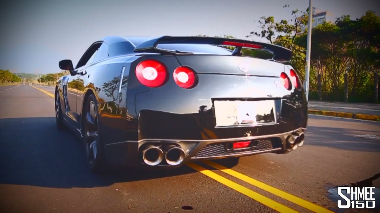 armytrix nissan gt r r35 exhaust system huge revs and acceleration