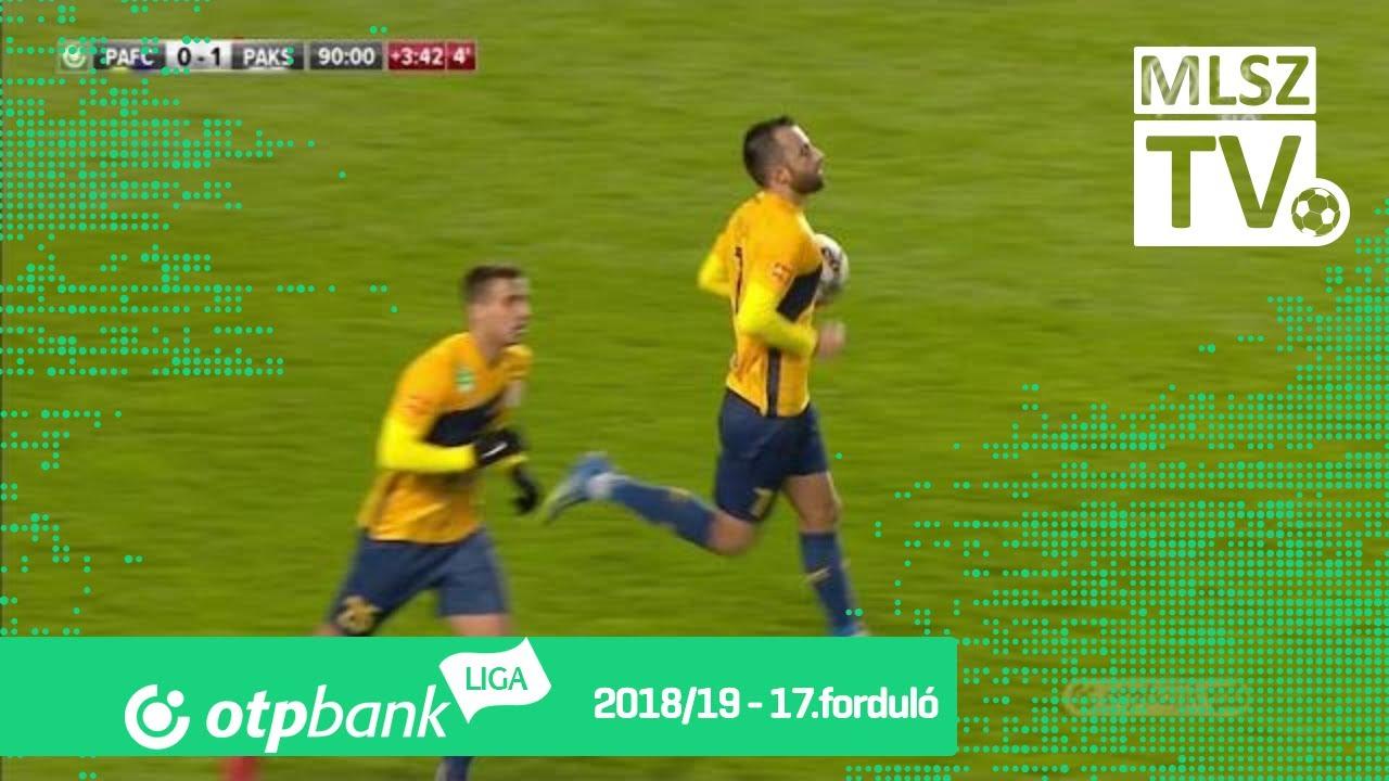 Arabuli Bachana gólja a Puskás Akadémia FC – Paksi FC mérkőzésen