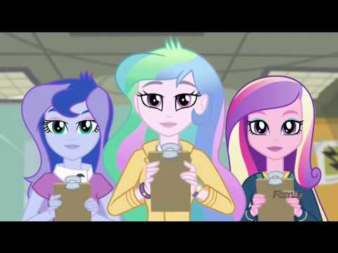 My Little Pony Equestria Girls: Friendship Games - 'ACADECA' Song