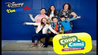 """#NewSeries - """"Coop & Cami Ask the World"""" (TEASER TRAILER OFICIAL) Disney Channel #SoyMuyFan"""