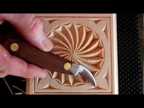 181 my chip carving carving a swirl youtube