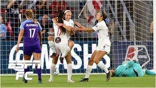 Orlando Pride's Ashlyn Harris howler gifts Washington Spirit goal in loss | NWSL Highlights