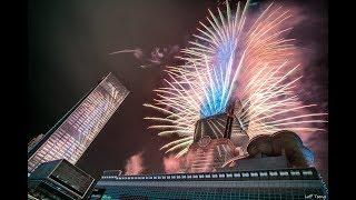 2018 台北 101 跨年煙火 Taipei 101 fireworks (4K)