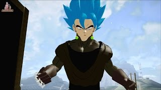GOKU BLACK SUPER SAYAJIN BLUE NEW 2016 2017 DRAGON BALL SUPER FULL HD Potara earrings 1080p60