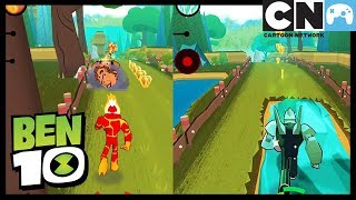 Ben 10   Ben 10 Up To Speed App Playthrough   Cartoon Network