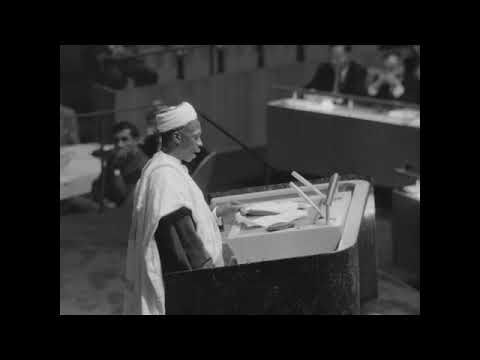 Sir Abubakar Tafawa Balewa at United Nations [1960] Part 2/2
