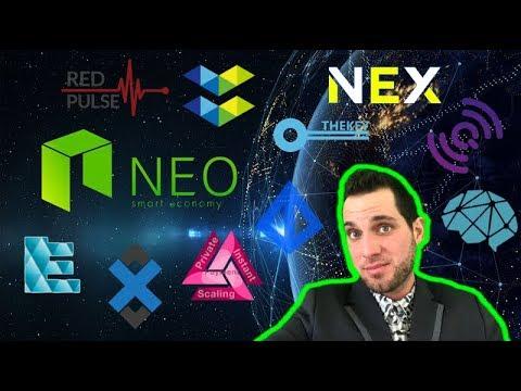 NEO News   DevCon   Top NEP-5 Cryptos 2018   NEX TNC EKO DBC QLC TKY RPX ADX LRC ICX GAS