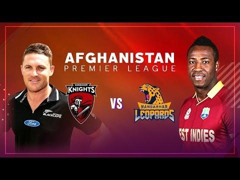 APL 2018 M2: Kandahar Knights vs Nangarhar Leopards Live Stream, Afghanistan Premier League - APLT20