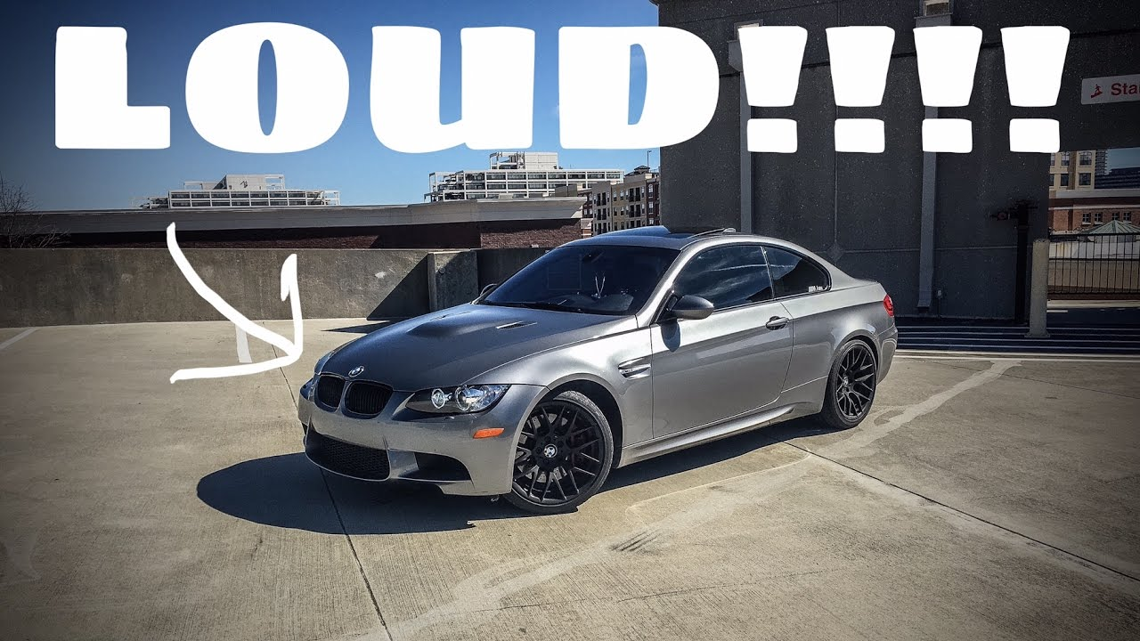Nice LOUD E92 BMW M3 W/ Remus Race Exhaust (BRUTAL REVS, Downshifts, Take Offs,  Cruising And Inside Car)