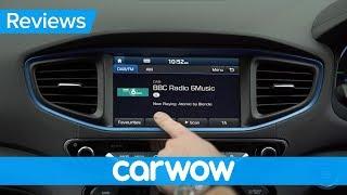Hyundai Ioniq hybrid 2018 Infotainment review | Mat Watson Reviews