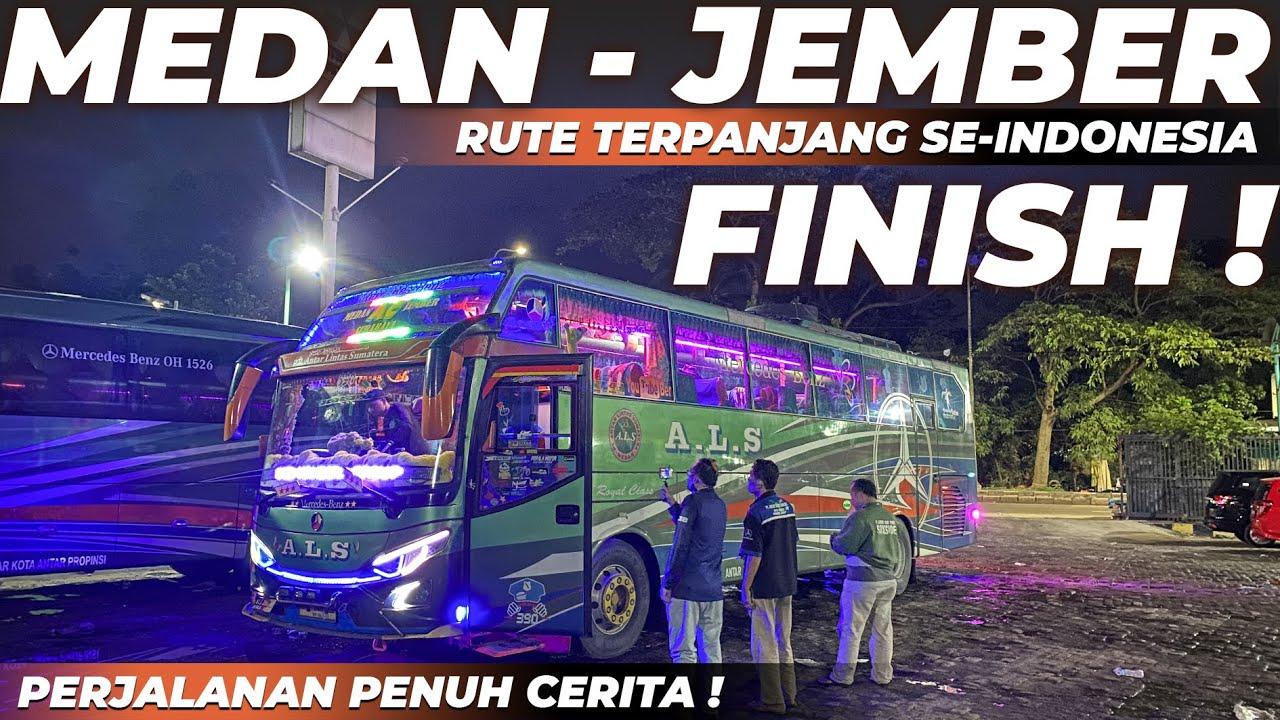 AKHIRNYA FINISH JEMBER !! MESIN HANDAL ANTI REWEL | Trip als 390 Medan - Jember 5 Hari 4 Malam .