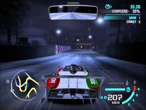 Nfs Carbon - Pagani Zonda R vs Saleen S5S Raptor [HD]