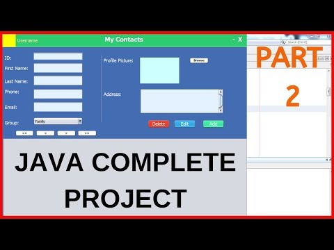 Java Complete Project For Beginners With Source Code - Part 2/2