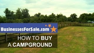 How to buy a campground