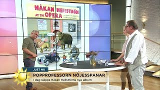 Jan Gradvall om Håkan Hellströms nya skiva - Nyhetsmorgon (TV4)