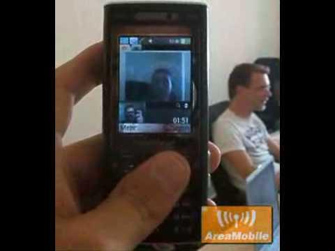 Sony Ericsson K800 video call
