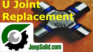 Universal Joint Replacement: U Joint Jeep Wrangler