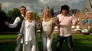 Dennie, Mieke, Christoff & Lindsay - Zaterdagavond (Official Videoclip)