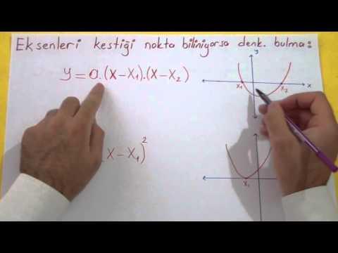 Parabol 3 Şenol Hoca Matematik