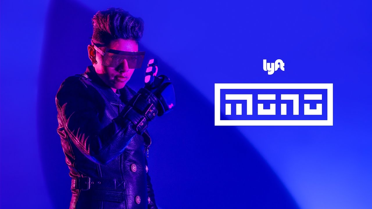 The future of ride hailing has arrived. Lyft Mono. Raise. Request. Ride.
