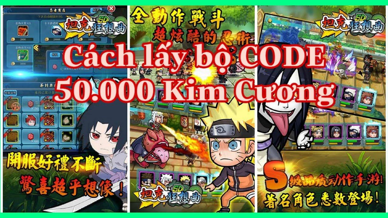 Hướng dẫn lấy Code Game Học viện Ninja – Naruto Đại Chiến Lậu