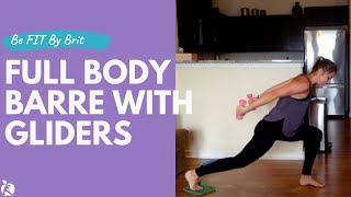 40 Minute Full Body Barre With Gliders