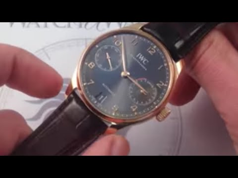 IWC Portugeiser Automatic 5007-02 Luxury Watch Review
