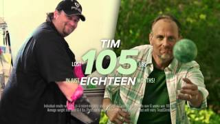 Weight Loss Success Story - Tim Lost 105 lbs and got his Health Back with a Bowflex TreadClimber