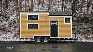 Lightweight Tiny House Can Sleep Four