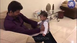Thalapathy new video with baby | kind hearted man | peace bro