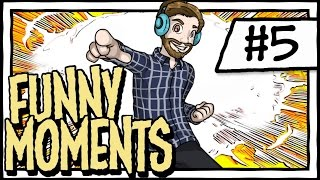 FUNNY GAMING MOMENTS #5 [YuB Highlights Montage]