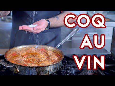 Binging with Babish: Coq au Vin from Donnie Brasco