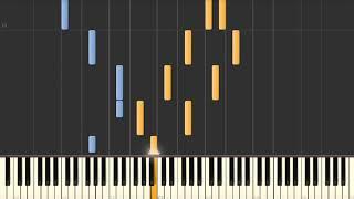 Howards' Way Theme – Piano tutorial