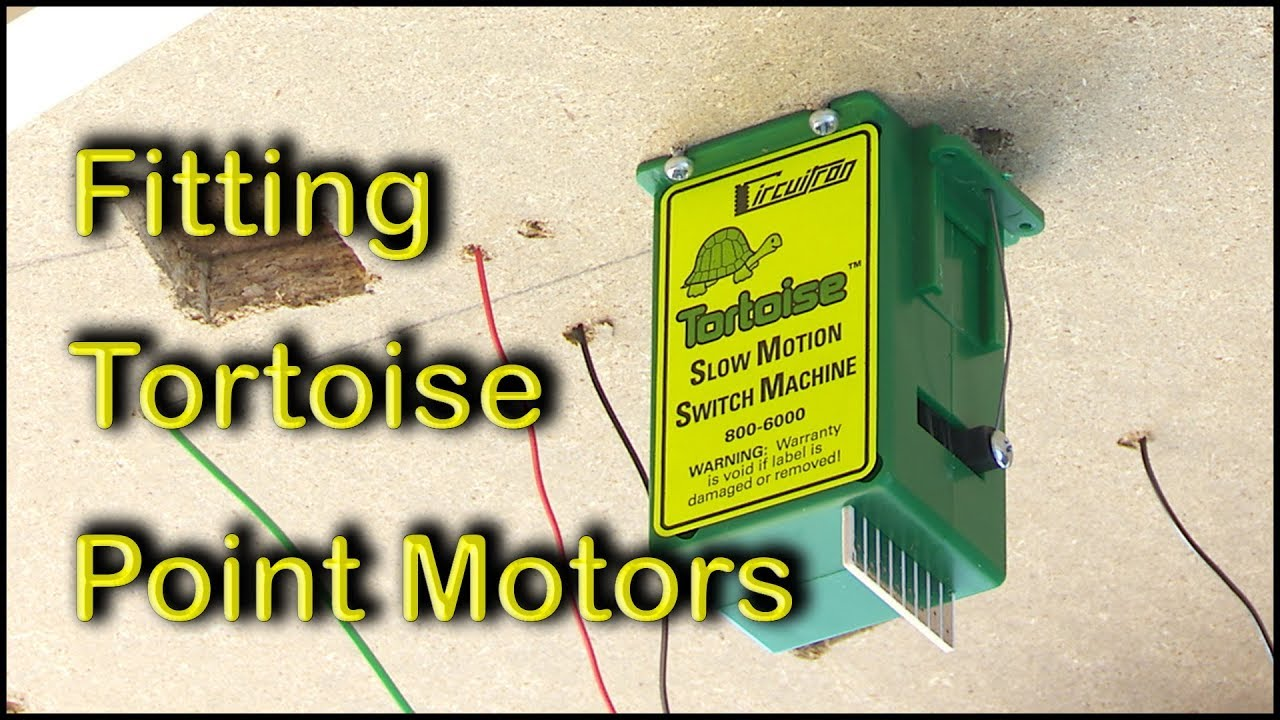 Wiring A Tortoise Point Motor Diagram And Ebooks Switch Machine Signals Fitting Motors Youtube Rh Com