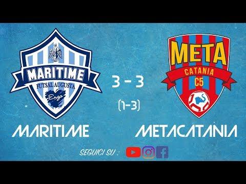 HIGHLIGHTS |  Maritime Futsal Augusta 3-3 MetaCatania | Rigori (1-3) - Coppa Divisione  | 19.11.2018