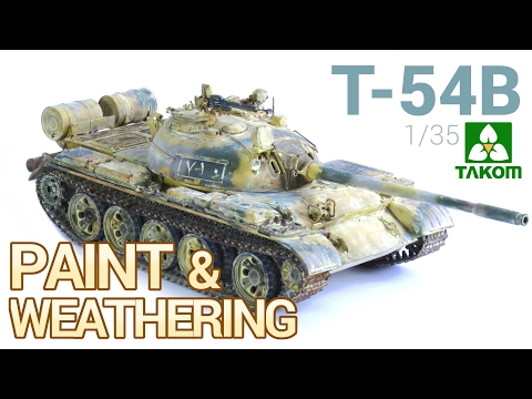 [2 FINAL] T-54B Russian Medium Tank (TAKOM) - PAINT and WEATHERING / Pintado y Ensuciado