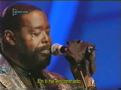 You're The First, The Last, My Everything - Barry White & Luciano Pavarotti.