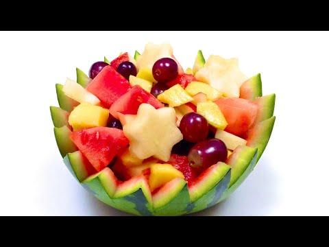 Portuguese mixed green salad hd doovi - Comment faire murir un melon ...