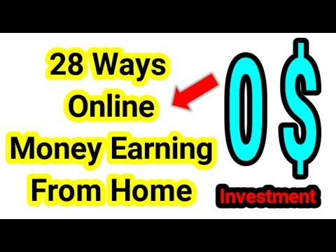 28 வழிகளில் Make money online in Tamilnadu Without Investment From Home