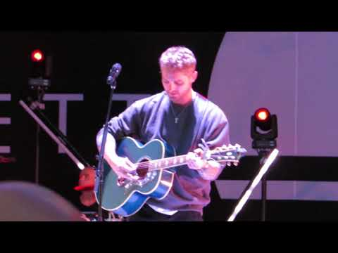 "Brett Young ""You Ain't Here To Kiss Me"" Live @ Mercer County Park Festival Grounds"